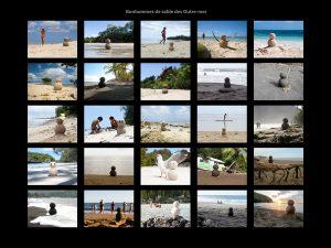 Bonhommes de sable des Outre-mer