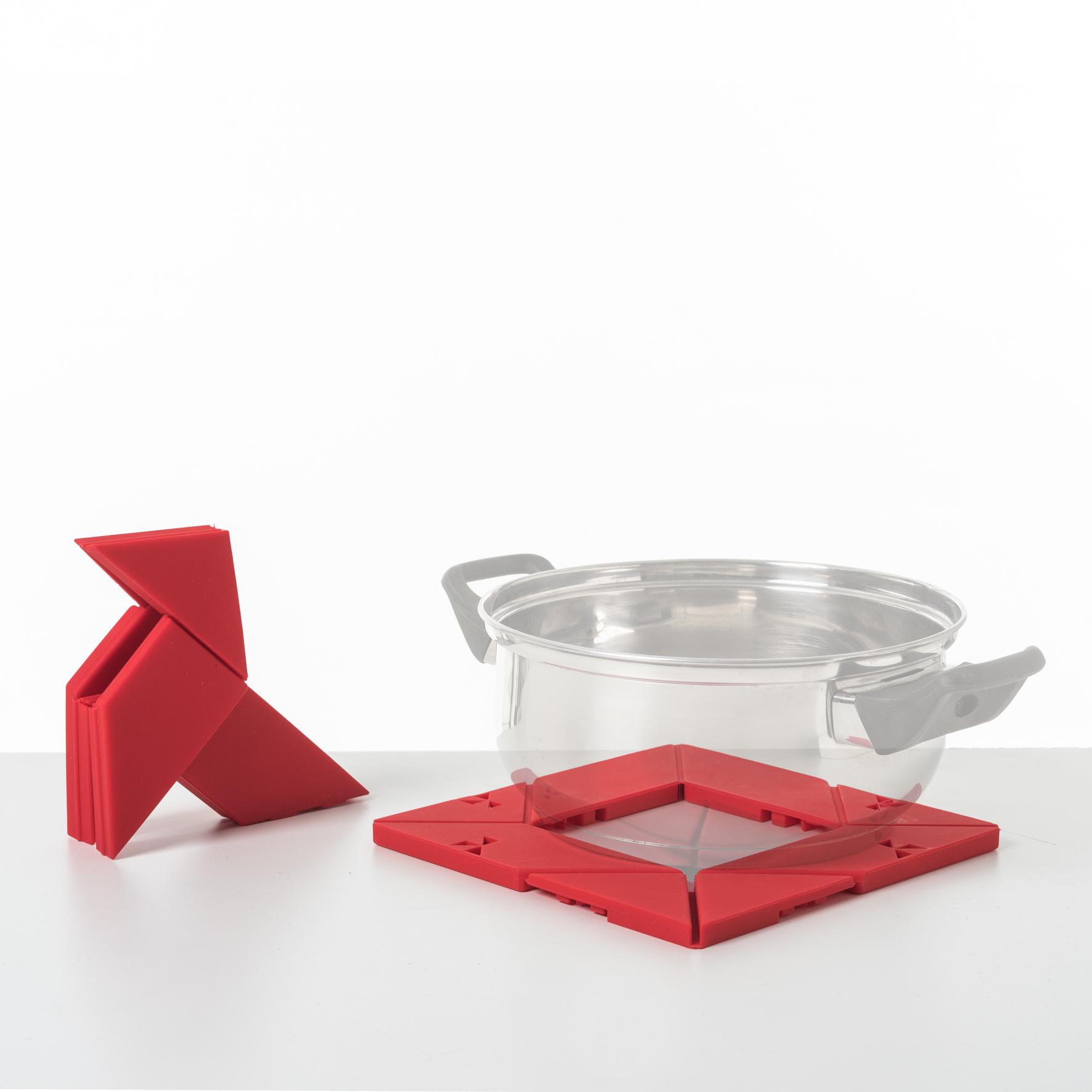 dessous de plat otorigami pour pa design thomas de cointet. Black Bedroom Furniture Sets. Home Design Ideas